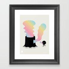 Magic Stump Framed Art Print