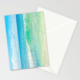 Ocean Blue Beach Dreams Stationery Cards