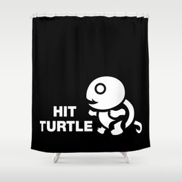 HIT TURTLE Shower Curtain