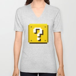 New Question Block Unisex V-Neck