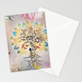 Golden Tree Of Life Stationery Cards