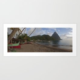 Glorious Piton Art Print