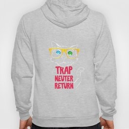 Trap Neuter Return Rescue Cat Tshirt Stray Wild Hoody