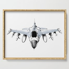 F-16 Fighting Falcon Serving Tray