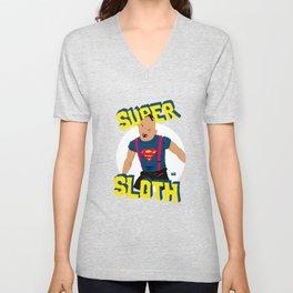 Super Sloth! Unisex V-Neck