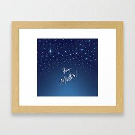 You Matter! Framed Art Print