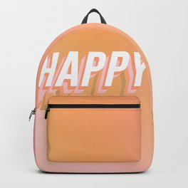 Choose Happy! - Peachy #positivity Backpack