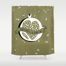 Persephone's Ink - Fall Equinox Shower Curtain