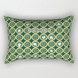 Condoms and Single Rectangular Pillow