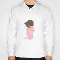 pigs Hoodies featuring Little pigs by happymiaow