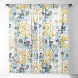 Dream Daisy Sheer Curtain