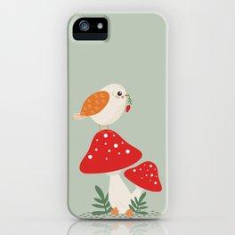 Autumn Bird iPhone Case