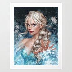 Elsa Art Print