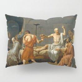 Jacques Louis David The Death of Socrates Pillow Sham
