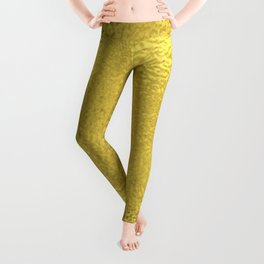 Simply Metallic in Yellow Gold Leggings