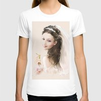 bride T-shirts featuring bride by tatiana-teni