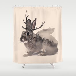Wolpertinger Shower Curtain
