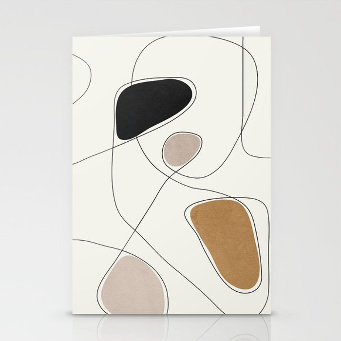 Thin Flow I Stationery Cards
