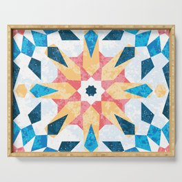 Sunny tile Serving Tray