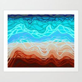 Washed Away Art Print