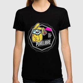 PureLibre-Badge T-shirt