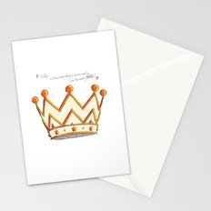 Crowns & Gin Stationery Cards