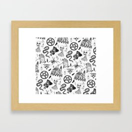 Well Maybe Its Witchcraft Framed Art Print