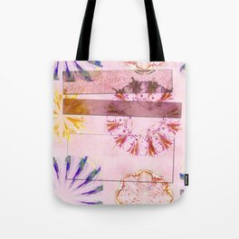 Teredos In The Altogether Flowers  ID:16165-085731-10071 Tote Bag
