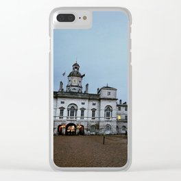 Whitehall London at Dusk Clear iPhone Case