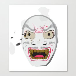Yuki Onna (alternate) Canvas Print