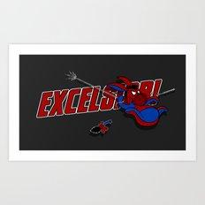 EXCELS-EEYORE! Art Print