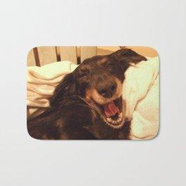 Laughing Doxie Bath Mat
