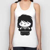 sandman Tank Tops featuring Chibi-Fi Death of The Endless by Eozen