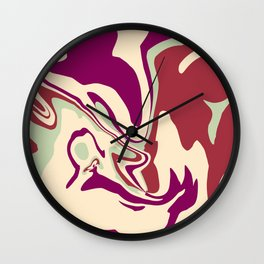 Acrylic Flow #2207 - MellowDramatic Wall Clock
