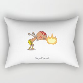 Yoga Flame! Rectangular Pillow