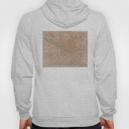 Vintage Map of Florence Italy (1910) Hoody