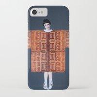 philosophy iPhone & iPod Cases featuring Philosophy of a Geisha by Kristina Haritonova