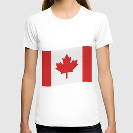 flag canada T-shirt