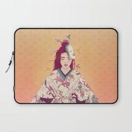 Origami Lady Laptop Sleeve