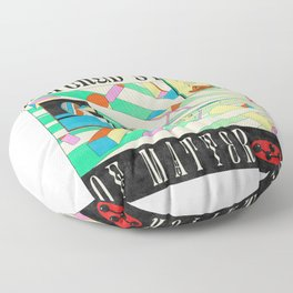 Altered State of Matter Floor Pillow