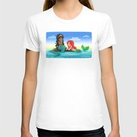 ouat T-shirts featuring OUAT - Mermaids by Choco-Minto