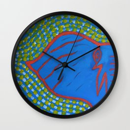 Elephant Eye -2 Wall Clock