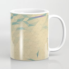 Only Colored Triangles Coffee Mug