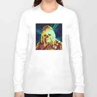 chewbacca Long Sleeve T-shirts featuring Chewbacca by victorygarlic