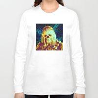 chewbacca Long Sleeve T-shirts featuring Chewbacca by victorygarlic - Niki