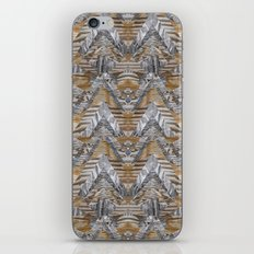Wood Quilt 2 iPhone & iPod Skin
