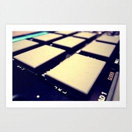 Drum Machine Art Print
