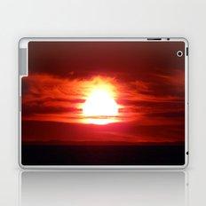 Surreal Flaming Sunset Laptop & iPad Skin