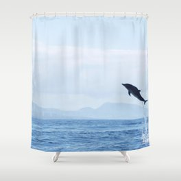 The sky is the limit Shower Curtain