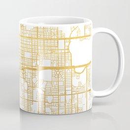 ORLANDO FLORIDA CITY STREET MAP ART Coffee Mug
